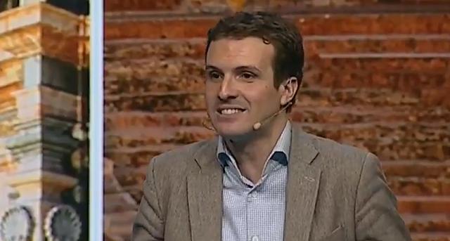 Pablo Casado arremete contra los CDR para terminar hablando de Venezuela, toros y caza.
