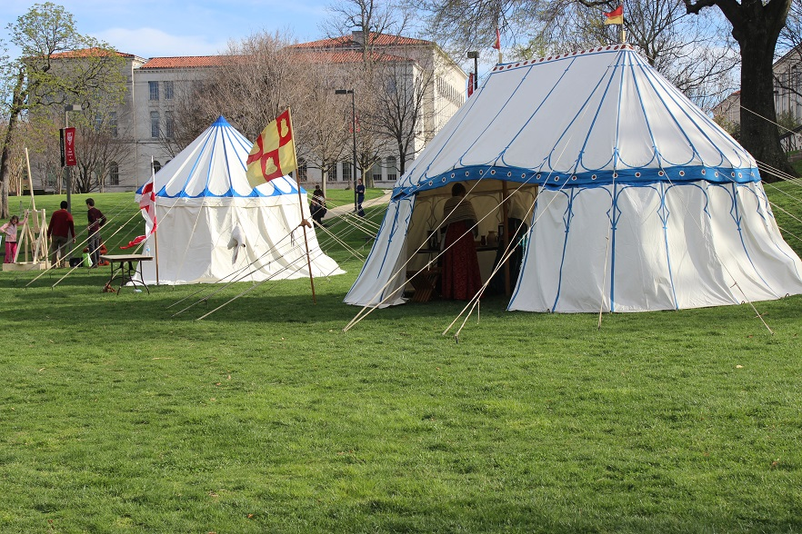 A couple Hundred Years War era (style) tents lend a good medieval atmosphere to the festival. I only thought to take a picture of this as everyone was ... & Johann International: Medieval Day