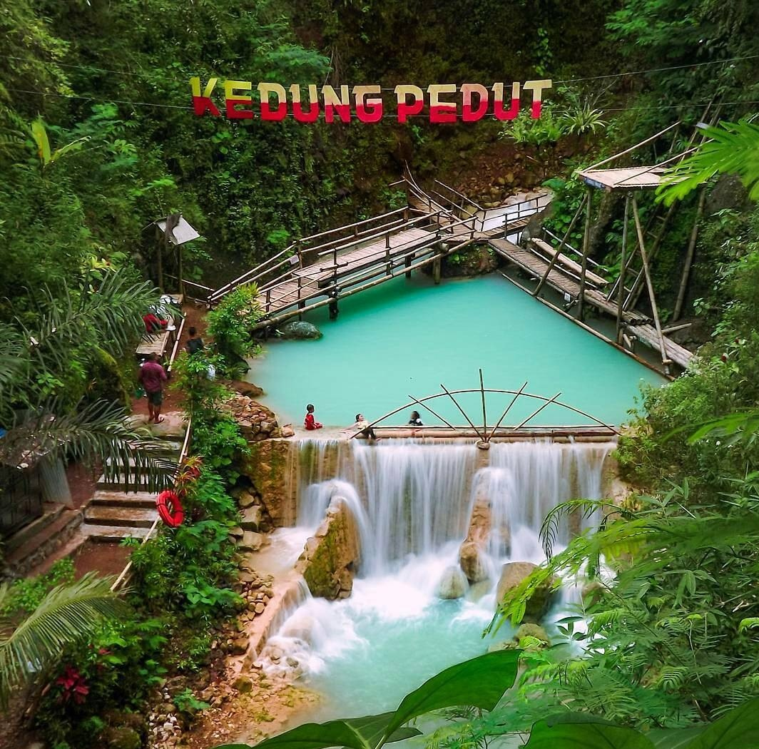 Wisata alam Air Terjun Kedung Pedut Kulon Progo-informasi ...