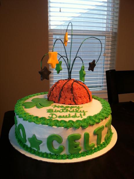 Boston Celtics Birthday Cake