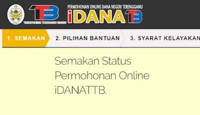 Semakan Status Dana Raya Terengganu 2018