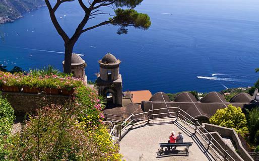 Atrativos em Ravello na Costa Amalfitana
