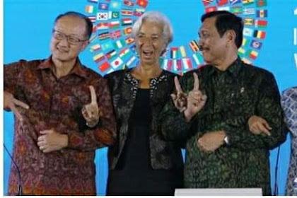 Anies Acungkan Jari Dilaporkan ke Bawaslu, Netizen: Hadeuh! Luhut Acungkan Satu Jari Di Acara IMF Gpp