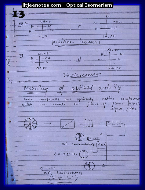 Optical Isomerism CHEMISTRY3