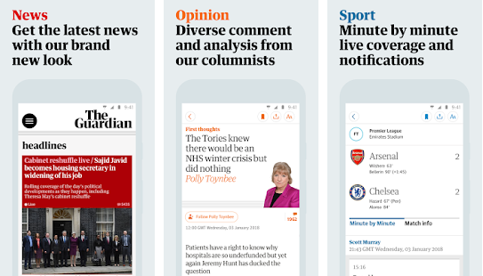 The Guardian Subscribed v6.0.1594 For Android