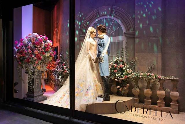 Cinderella noiva e principe casamento figurino