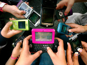 Image result for texting cell phone