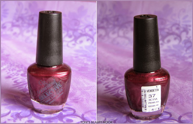 golden rose selective nail polish vendetta