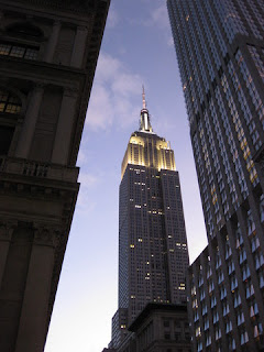Empire State Building at dusk, New York, New York