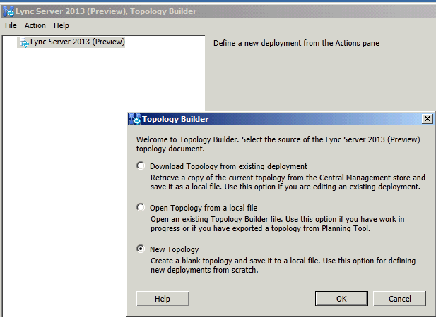 Lync Server 2013 Enterprise Server Setup (Step-by-Step)