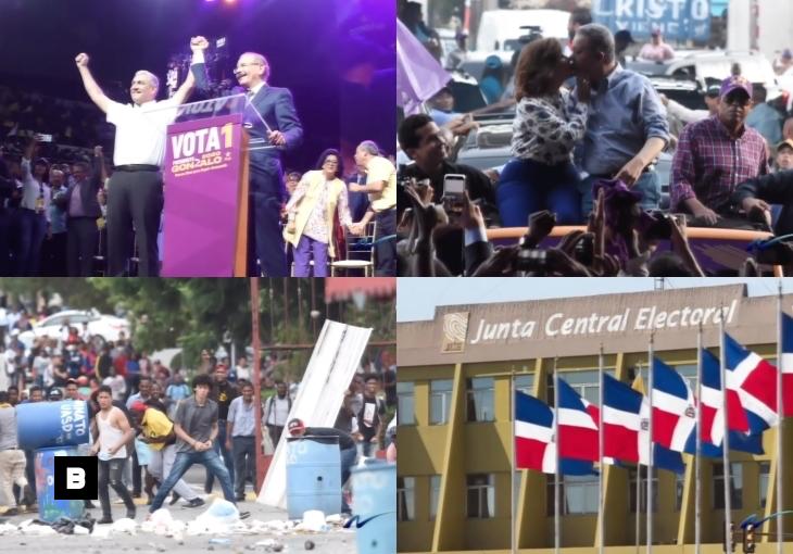 Foto-crónica: Días finales en las primarias de los partidos y disturbios en la UASD