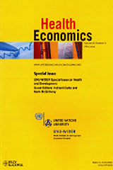 Image of Health Economics Journal