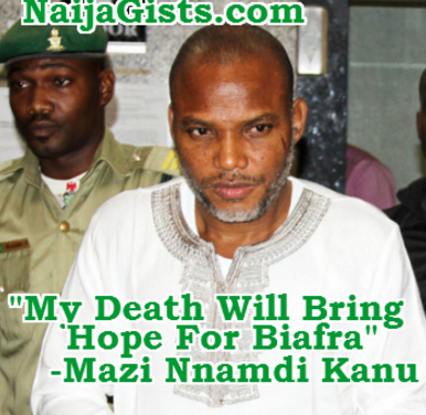 mazi nnamdi kanu one year in prison