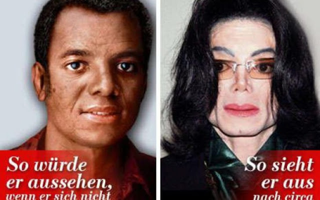 How Michael Jackson look 50 years old without plastic surgery