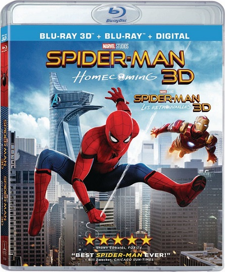 Spider-Man: Homecoming 3D (Spider-Man: De Regreso a Casa 3D) (2017) m1080p BDRip 3D Half-OU 12GB mkv Dual Audio DTS-HD 5.1 ch