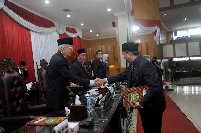 DPRD Gelar Rapat Paripurba Pendapat Akhir Fraksi