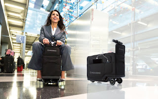 World's first motorised suitcase