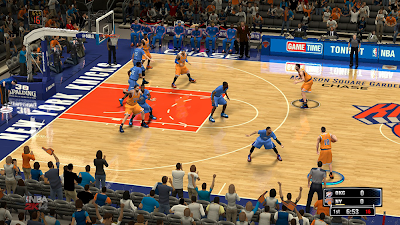 NBA 2K14 Knicks MSG Court Mod