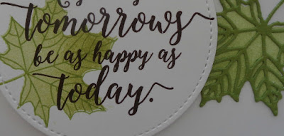 Stampin' Up! UK Independent  Demonstrator Susan Simpson, Craftyduckydoodah!, Colorful Seasons, September 2017 Coffee & Cards Project, Supplies available 24/7 from my online store,