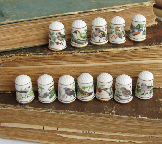 Thimbles Franklin Mint, наперстки
