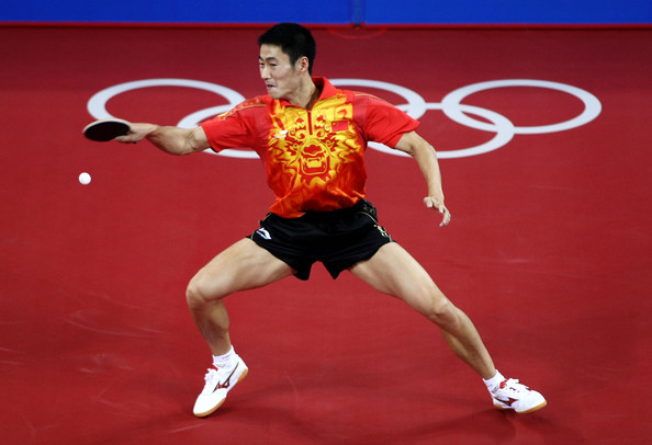 Sports Celebrity: Wang Liqin Chinese Table Tennis Player