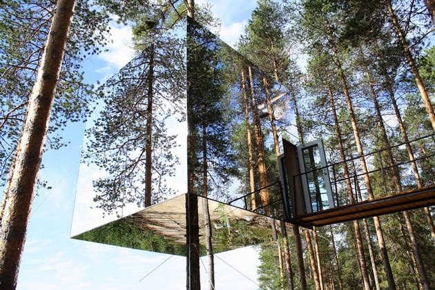 Tree House Hotel, Sweden-1