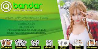 Bonus Agen QBandar Bandar66 Online Terpercaya - www.Sakong2018.com