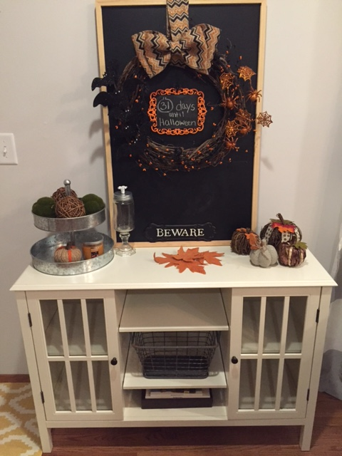 halloween entry way