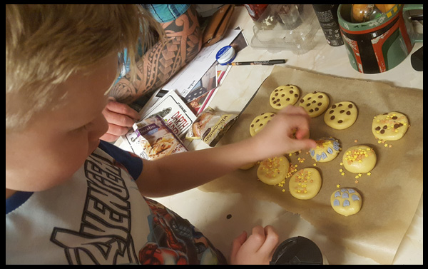 Half Term Fun activities - Baking