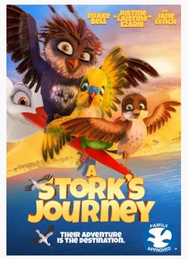 Vẹt Cò Phiêu Lưu Ký - A Stork's Journey; Richard The Stork (2017)