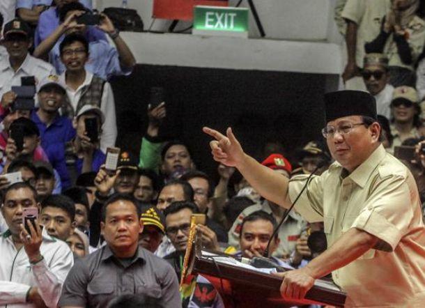Prabowo Cerita Dimandikan Kiai karena Sudah Siap-Siap Mati