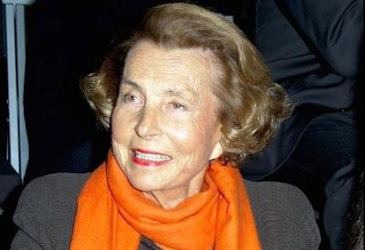 Liliane Bettencourt orang terkaya di dunia