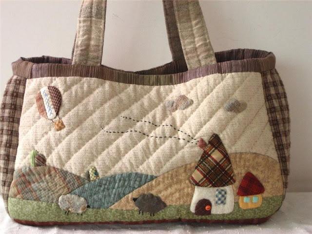 Patchwork Bags & Pillows. Сумочки, подушки из лоскутков