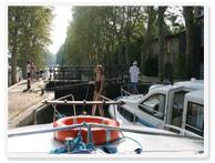 Crucero fluvial por el Canal du Midi