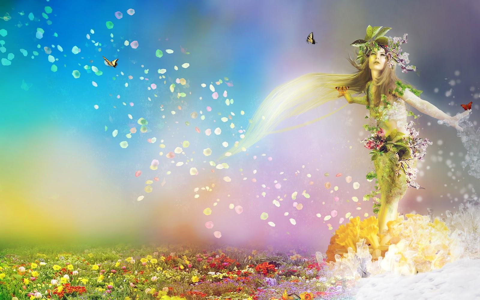 Resultado de imagem para spring goddess