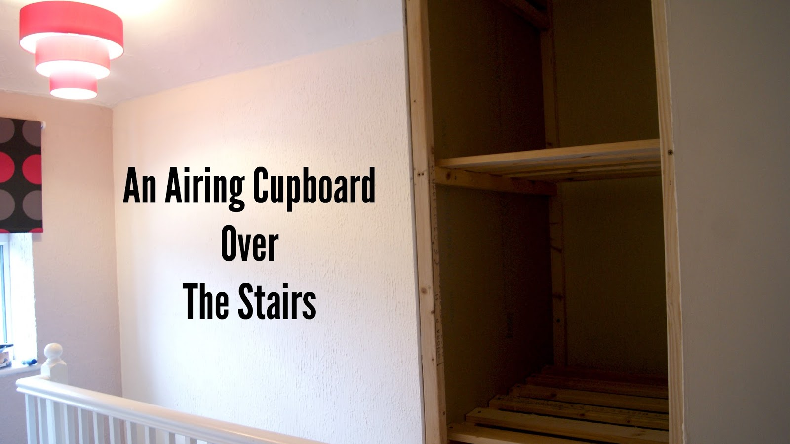 Bed Over Stair Box With Storage And Stairs: Build An Airing Cupboard