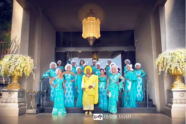 image result for olakunbi oyelese wedding photos