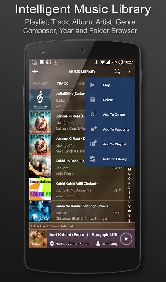 XPlayer 3D: The best Audio Player [Premium] apk - GlobeTm