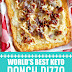 World's Best Keto Ranch Pizza #ketopizza #ranchpizza