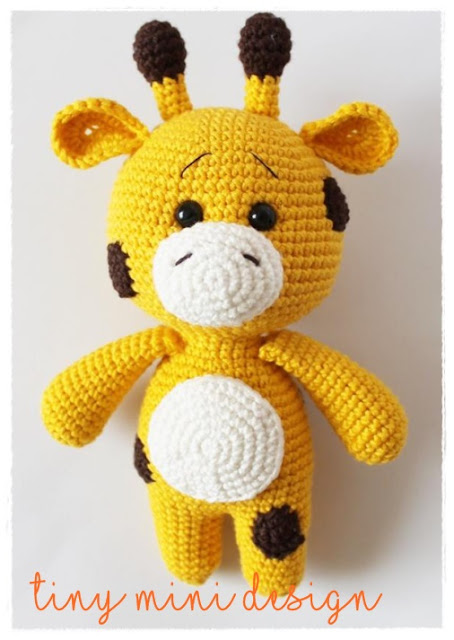 Amigurumi Hello Kitty Collection 1 : Amigurumi Little Giraffe-FreePattern - Amigurumi Free Patterns