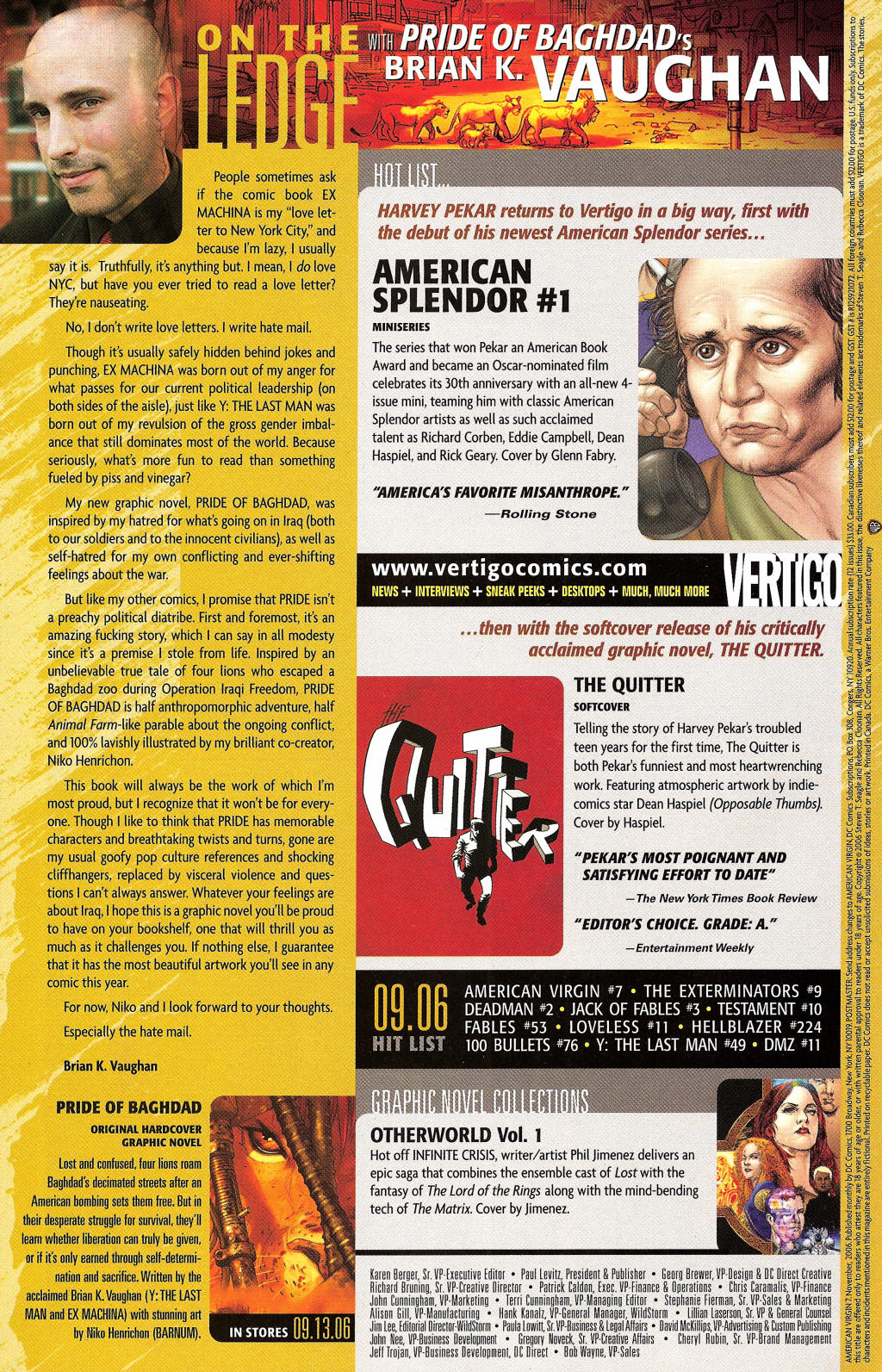 Read online American Virgin comic -  Issue #7 - 29