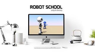 Animasi Robot School