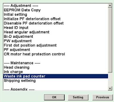 Mengatasi Hasil Cetakan Printer Epson 1390 Cacat atau Loncat-Loncat Bergaris dan Berbayang