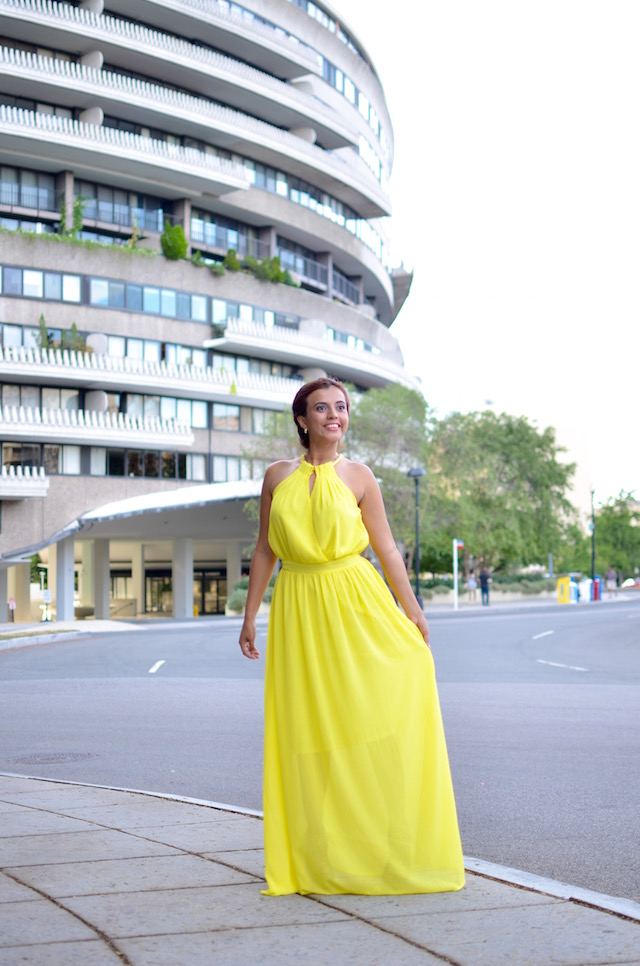 Yellow Dress, happy day!