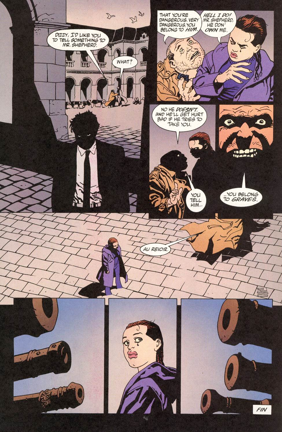 Read online 100 Bullets comic -  Issue #14 - 24