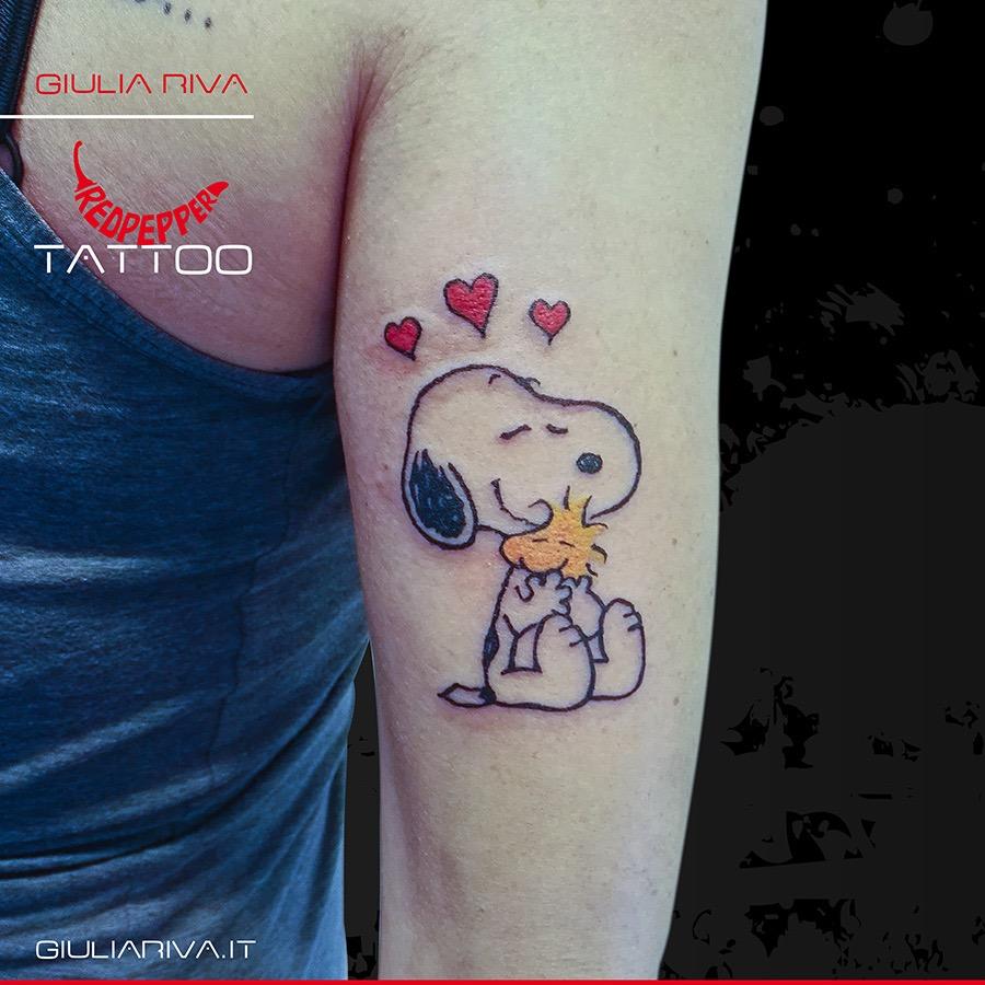 Mytattooland Com Snoopy Tattoo Ideas