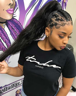 39 Trendy Weave Ponytails Hairstyles For Black Women To Copy