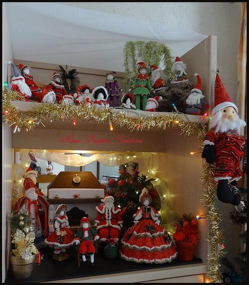 Décorations de Noël Marie Poupées