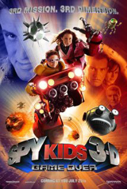 Spy Kids 3-D - Game Over (2003) Hindi Dubbed