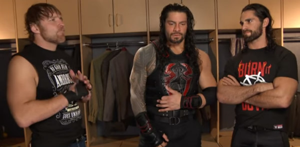 Dean Ambrose, Roman Reigns And Seth Rollins